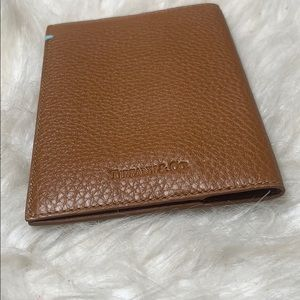 Like New Tiffany & Co. Leather Passport Holder